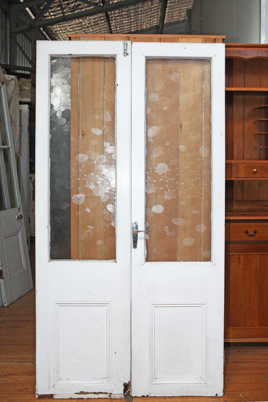 Pair French Doors 0304-M3 Price: AUD $220.00 - Demolition Yard - Special Clearance Joseph's Woodworks