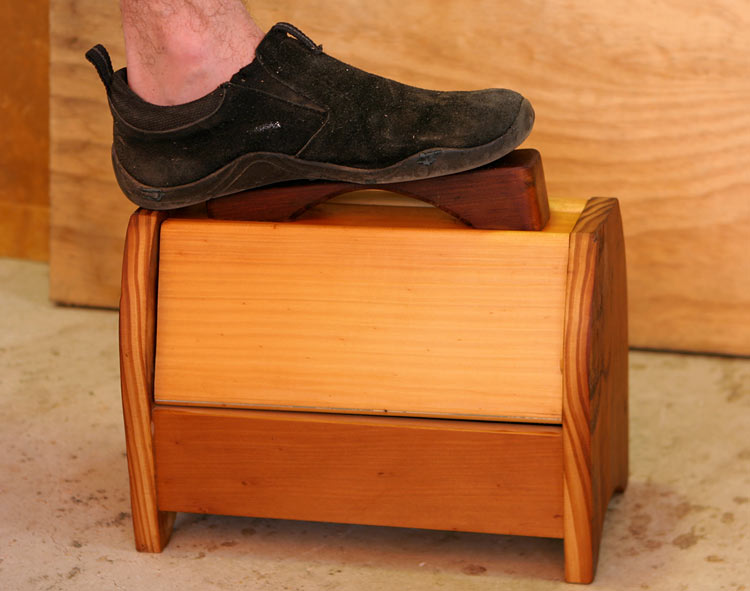 Shoe Shine Box Designs
